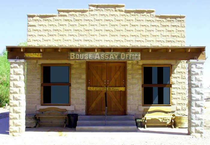 The Bouse Assay Office and Museum